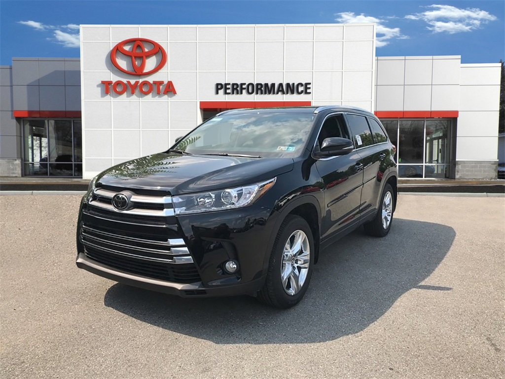 New 2018 Toyota Highlander Limited AWD 4D Sport Utility
